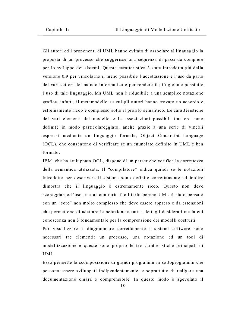 Anteprima della tesi: Un sistema distribuito per le metriche del software basato su java e Network Computer, Pagina 10