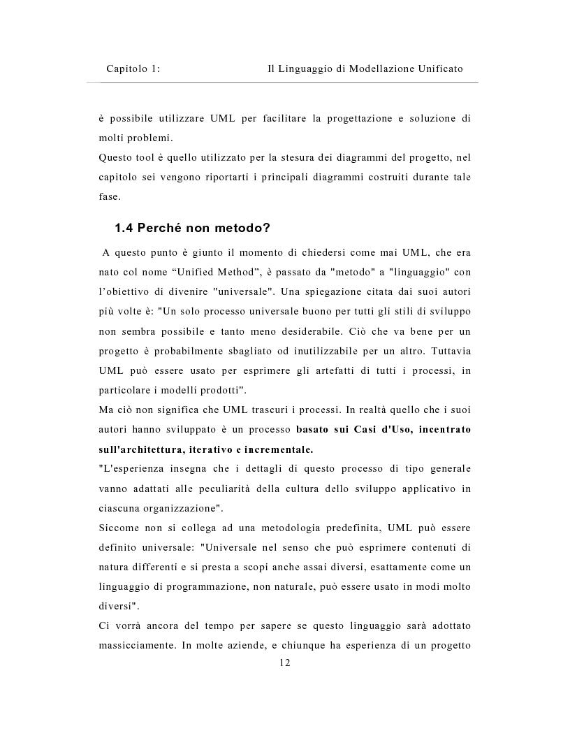 Anteprima della tesi: Un sistema distribuito per le metriche del software basato su java e Network Computer, Pagina 12
