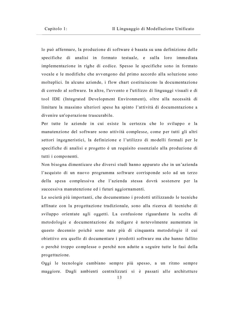 Anteprima della tesi: Un sistema distribuito per le metriche del software basato su java e Network Computer, Pagina 13