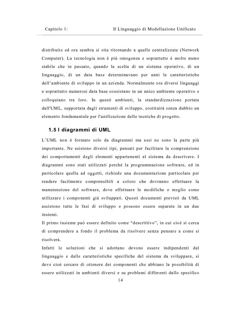 Anteprima della tesi: Un sistema distribuito per le metriche del software basato su java e Network Computer, Pagina 14