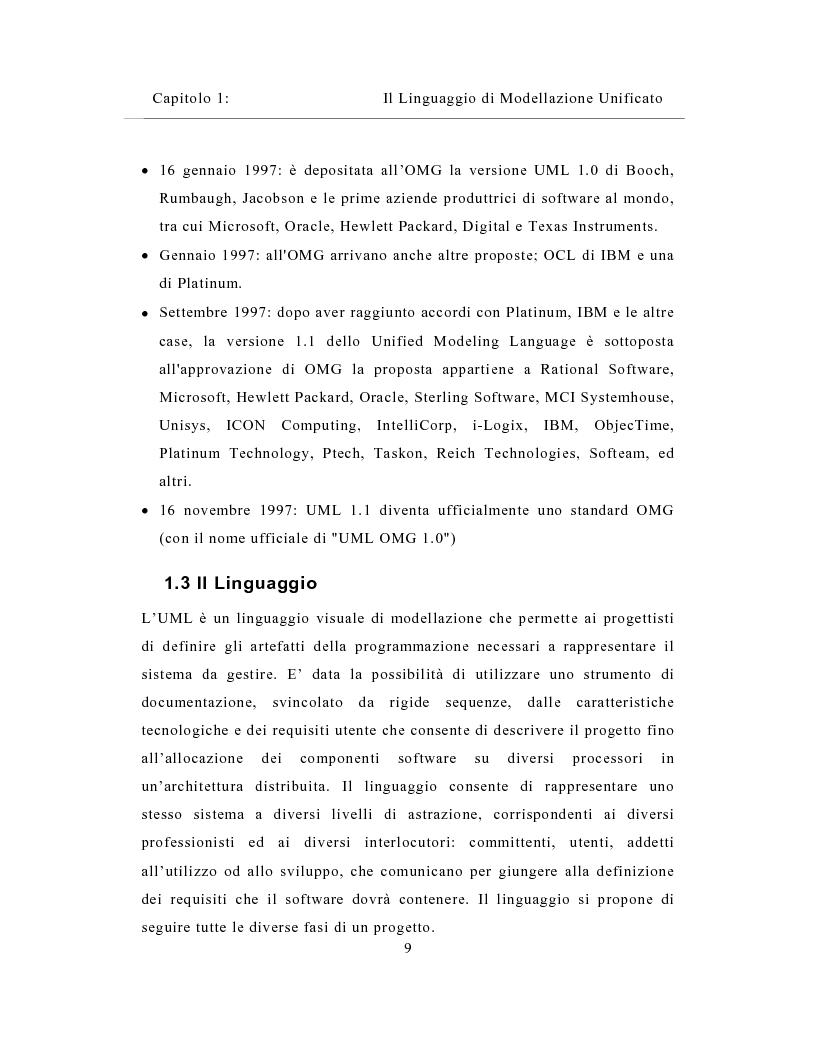 Anteprima della tesi: Un sistema distribuito per le metriche del software basato su java e Network Computer, Pagina 9
