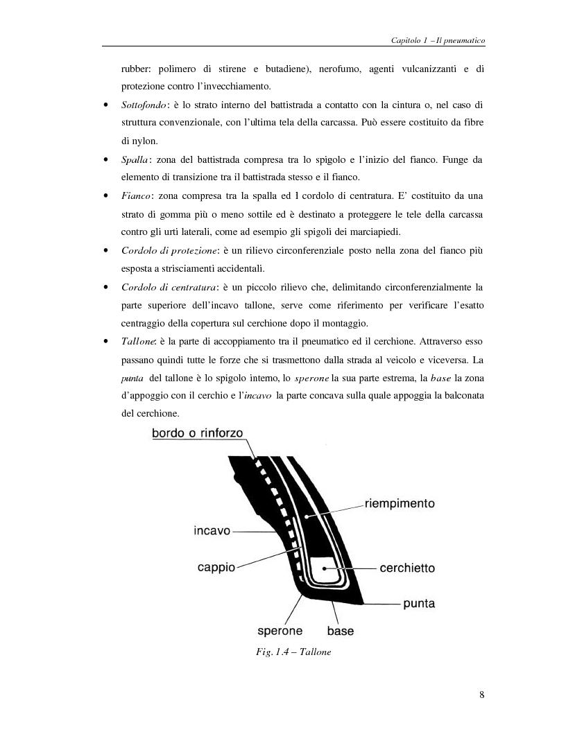 Anteprima della tesi: Analisi dinamica numerica e sperimentale di una ruota per autoveicoli, Pagina 7