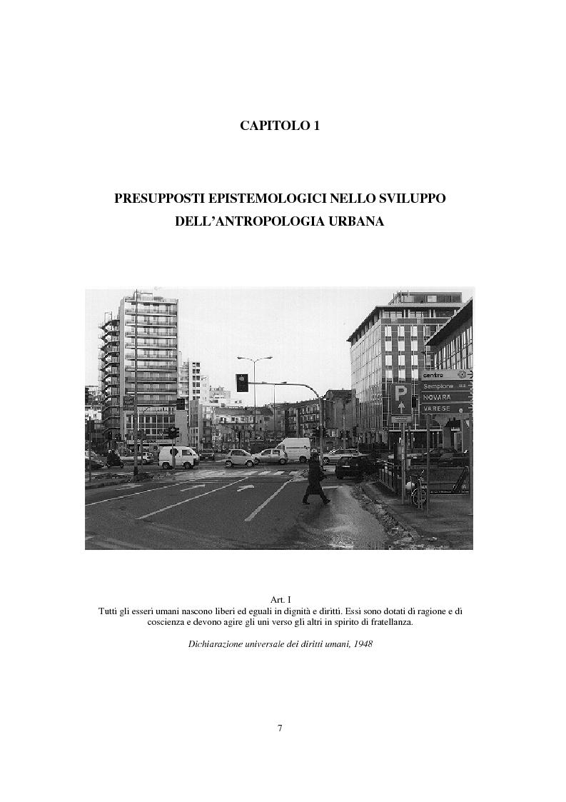 Anteprima della tesi: Migranti nello spazio: i luoghi della clandestinità nella città di Milano, Pagina 3