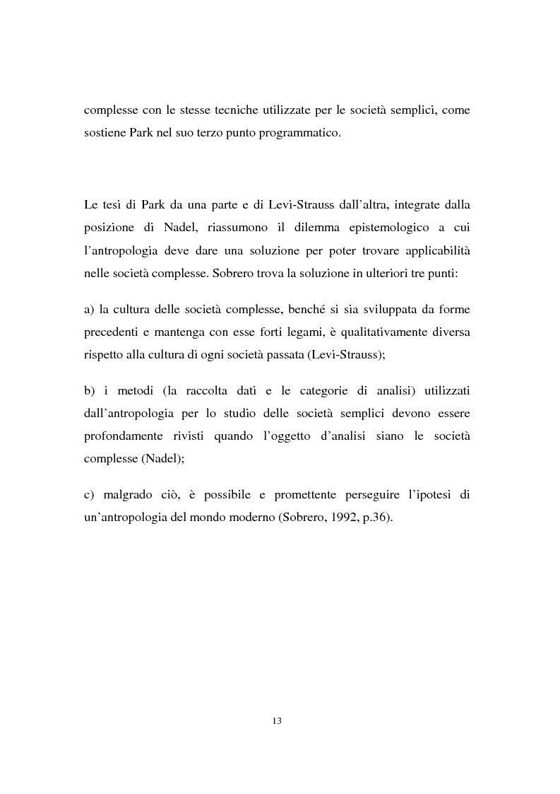 Anteprima della tesi: Migranti nello spazio: i luoghi della clandestinità nella città di Milano, Pagina 9