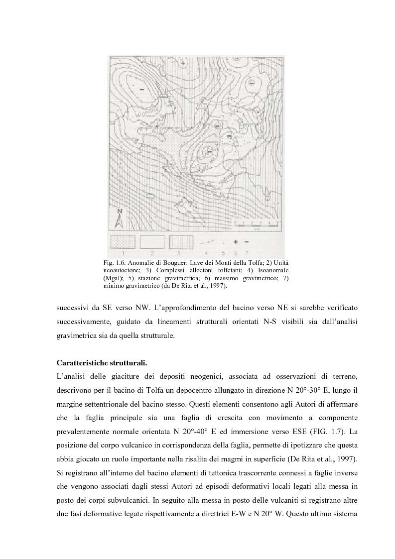 Anteprima della tesi: Controllo strutturale e modalità di messa in posto dei Domi Cimini, Pagina 10