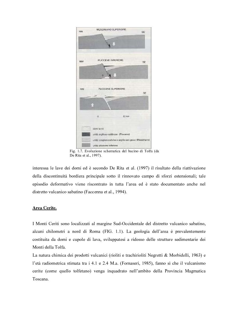 Anteprima della tesi: Controllo strutturale e modalità di messa in posto dei Domi Cimini, Pagina 11