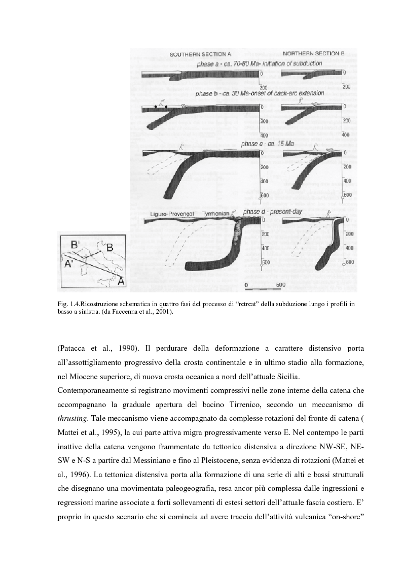 Anteprima della tesi: Controllo strutturale e modalità di messa in posto dei Domi Cimini, Pagina 5