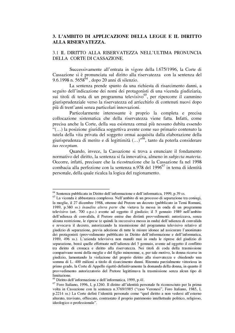 Anteprima della tesi: Il consenso al trattamento dei dati personali, Pagina 13