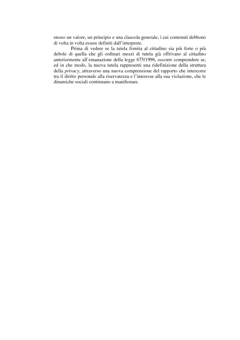 Anteprima della tesi: Il consenso al trattamento dei dati personali, Pagina 3