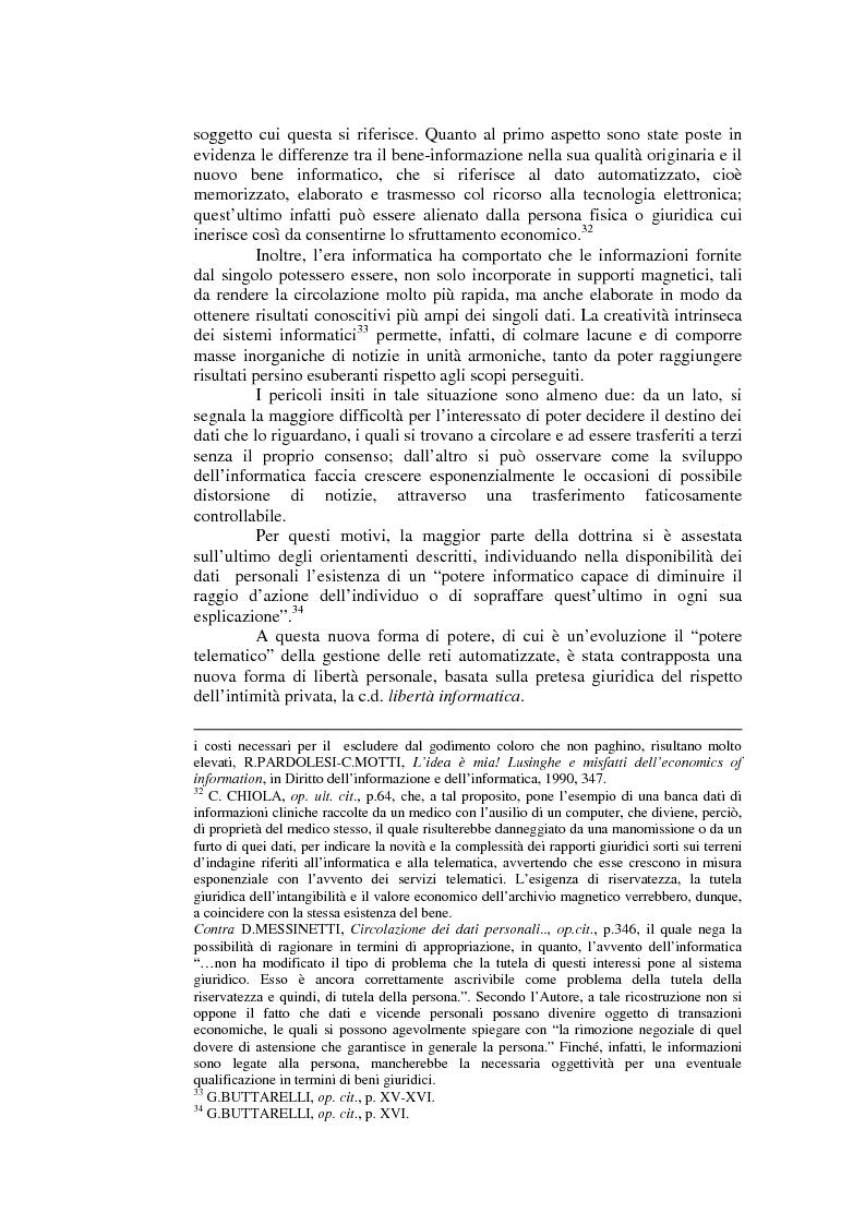 Anteprima della tesi: Il consenso al trattamento dei dati personali, Pagina 7