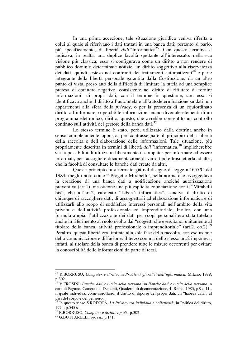 Anteprima della tesi: Il consenso al trattamento dei dati personali, Pagina 8
