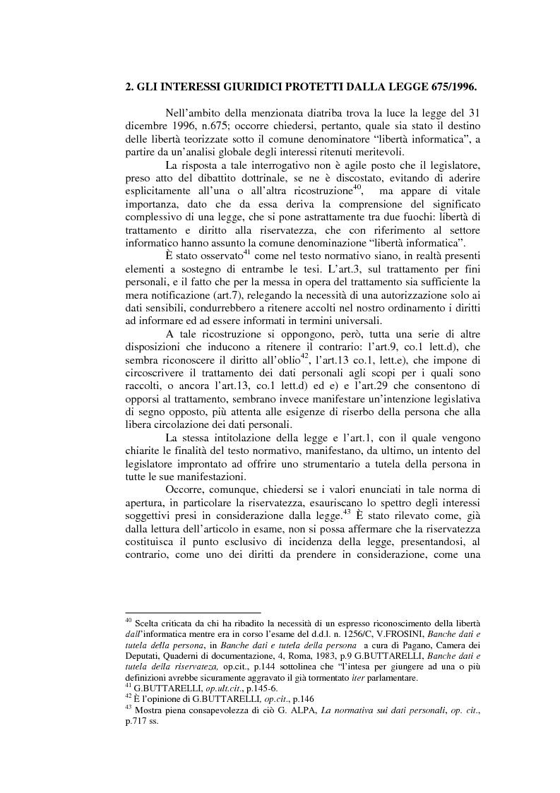 Anteprima della tesi: Il consenso al trattamento dei dati personali, Pagina 9