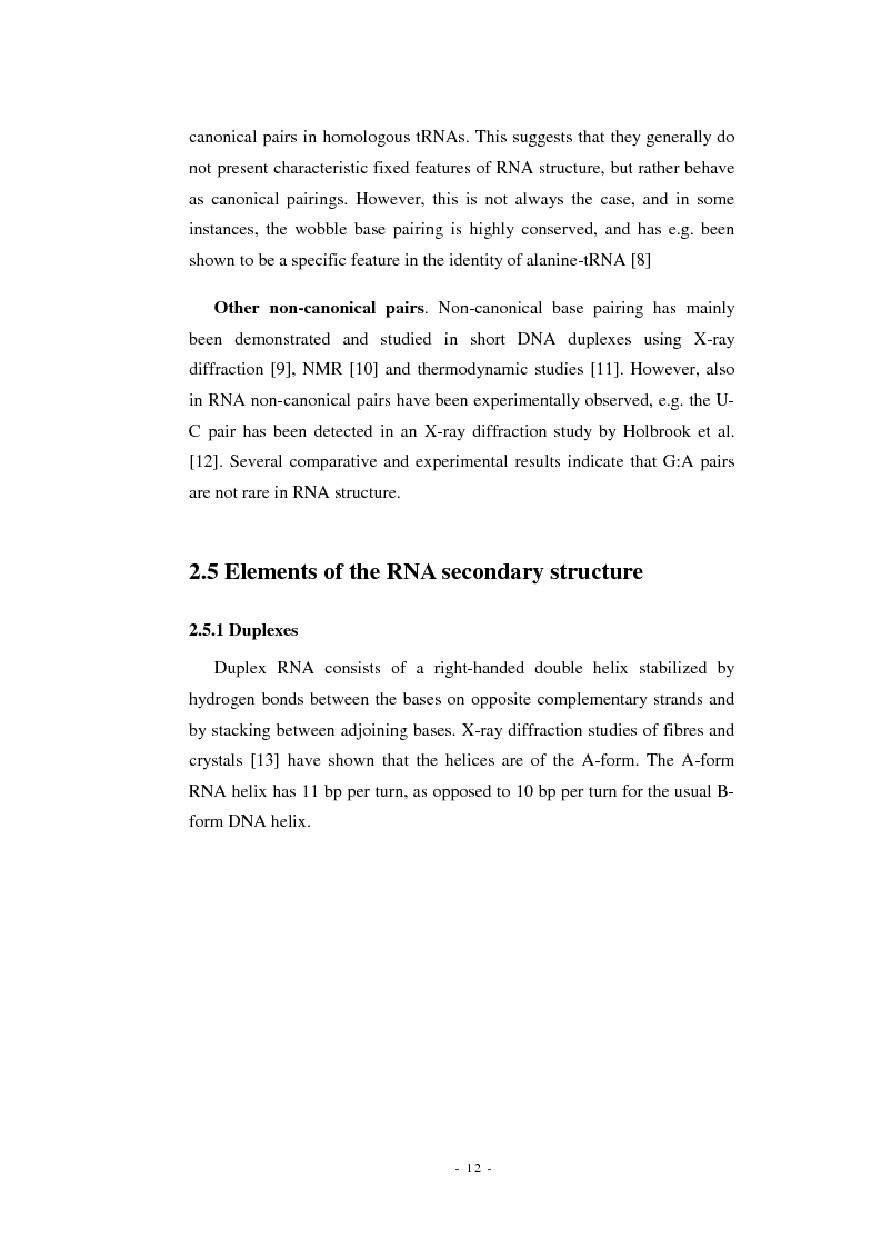 Anteprima della tesi: Prediction of signal recognition particle RNA genes, Pagina 8