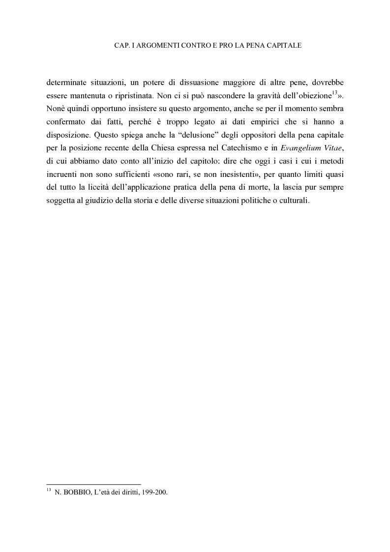 Anteprima della tesi: La pena di morte tra etica della vita e autorità dello Stato, Pagina 15