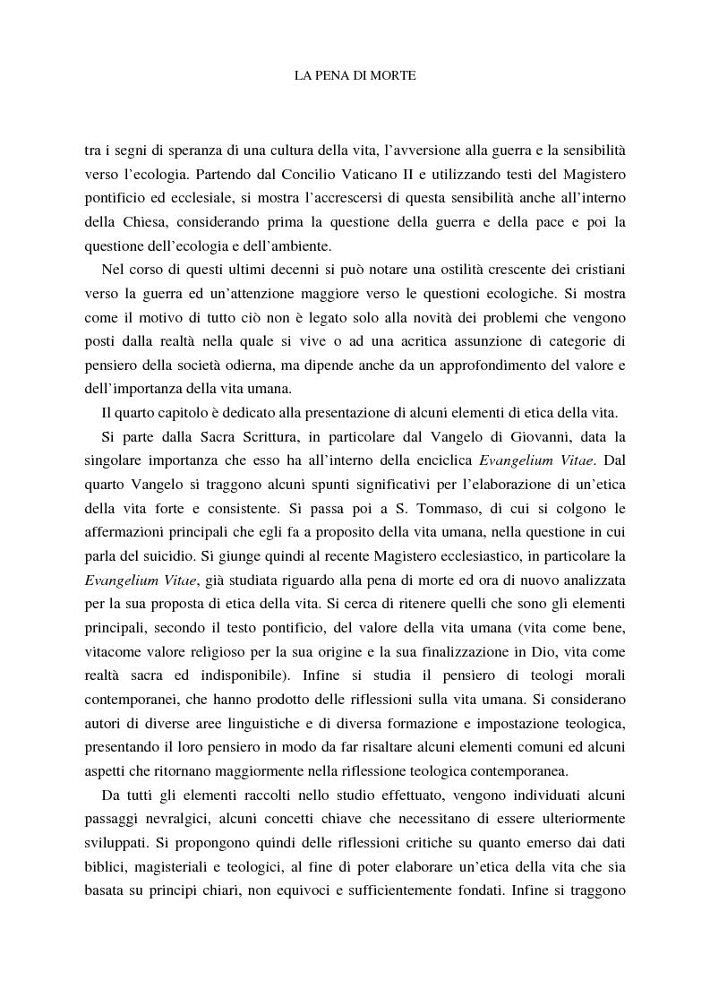 Anteprima della tesi: La pena di morte tra etica della vita e autorità dello Stato, Pagina 6