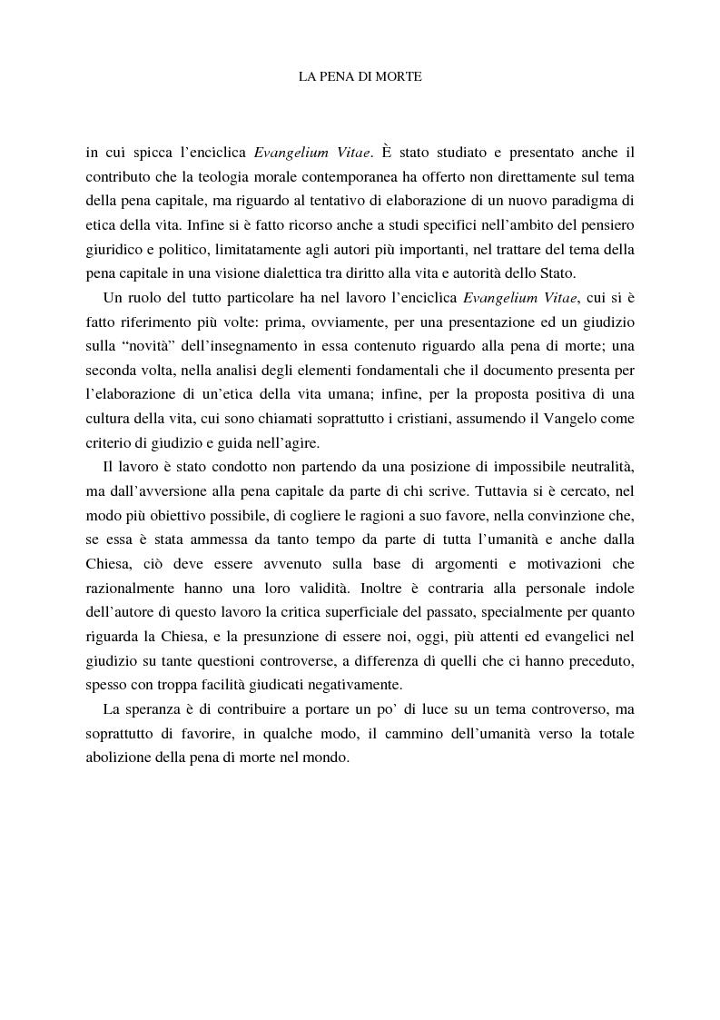 Anteprima della tesi: La pena di morte tra etica della vita e autorità dello Stato, Pagina 8