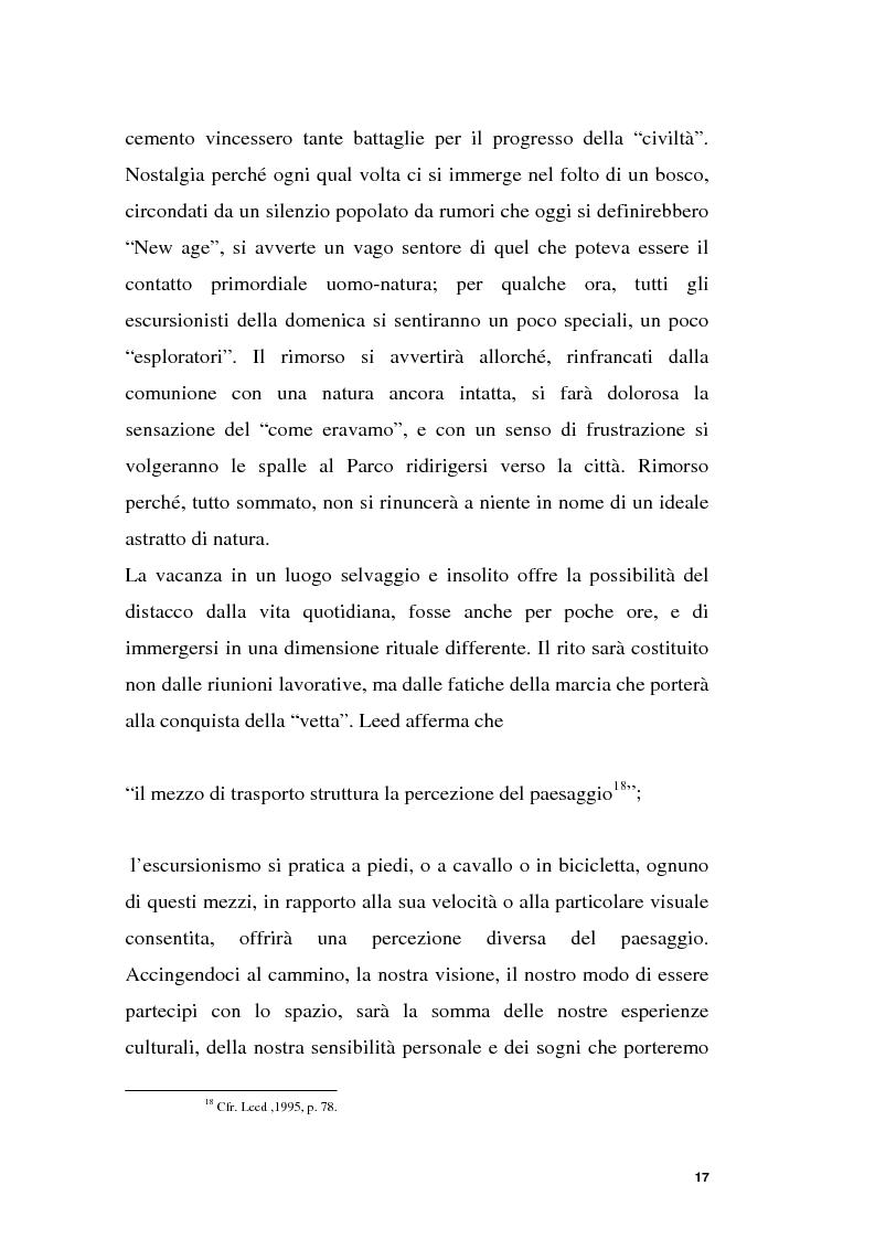 Anteprima della tesi: Parchi e società. La nascita dell'Oasi Wwf di Monte Arcosu, Pagina 14
