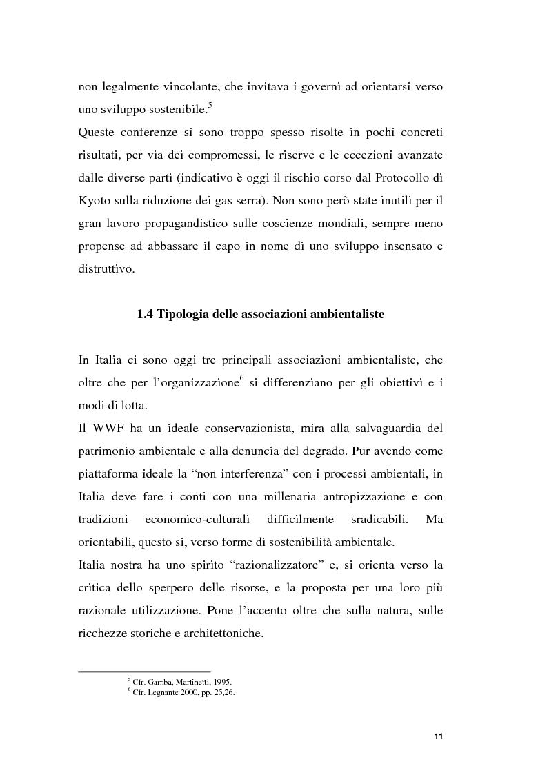 Anteprima della tesi: Parchi e società. La nascita dell'Oasi Wwf di Monte Arcosu, Pagina 8