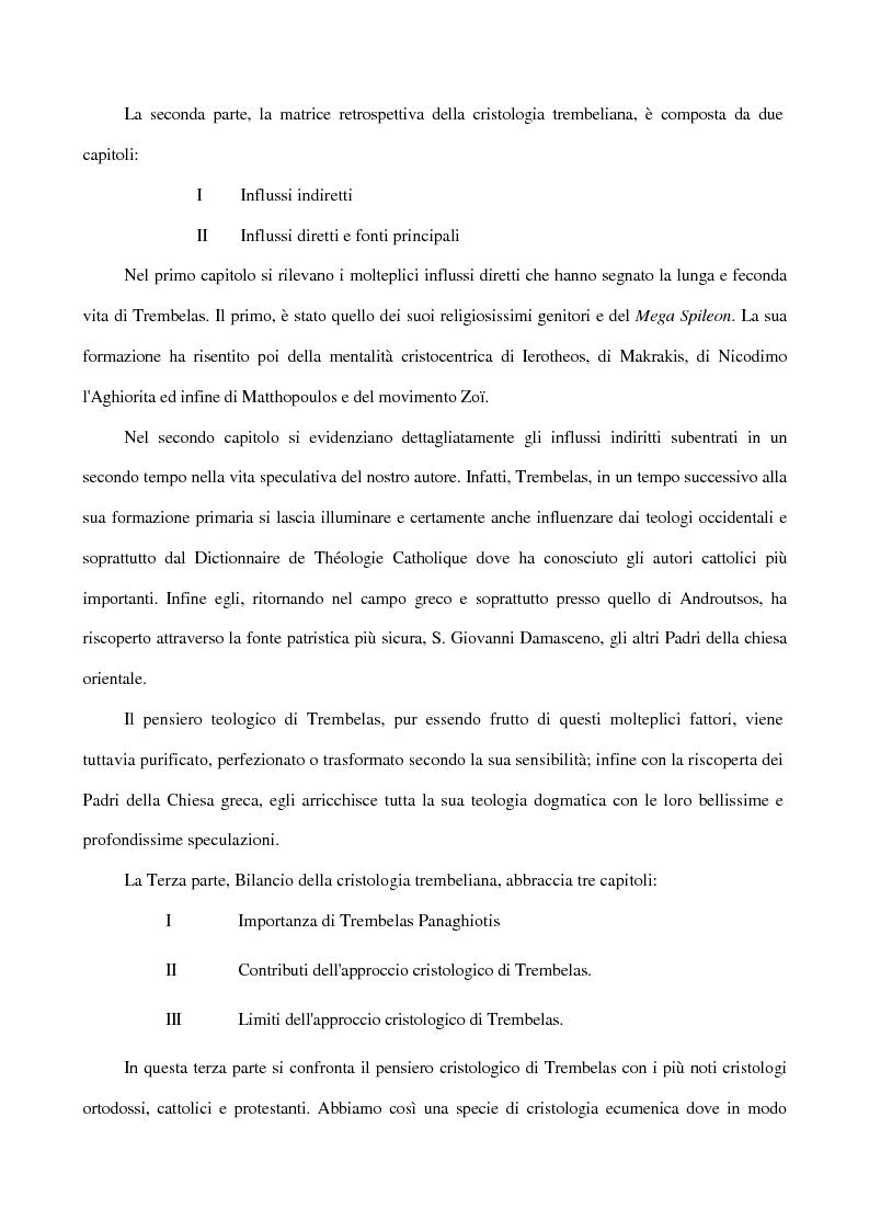 Anteprima della tesi: La Cristologia di Trembelas Panaghiotis: un teologo greco ortodosso del nostro secolo, Pagina 4