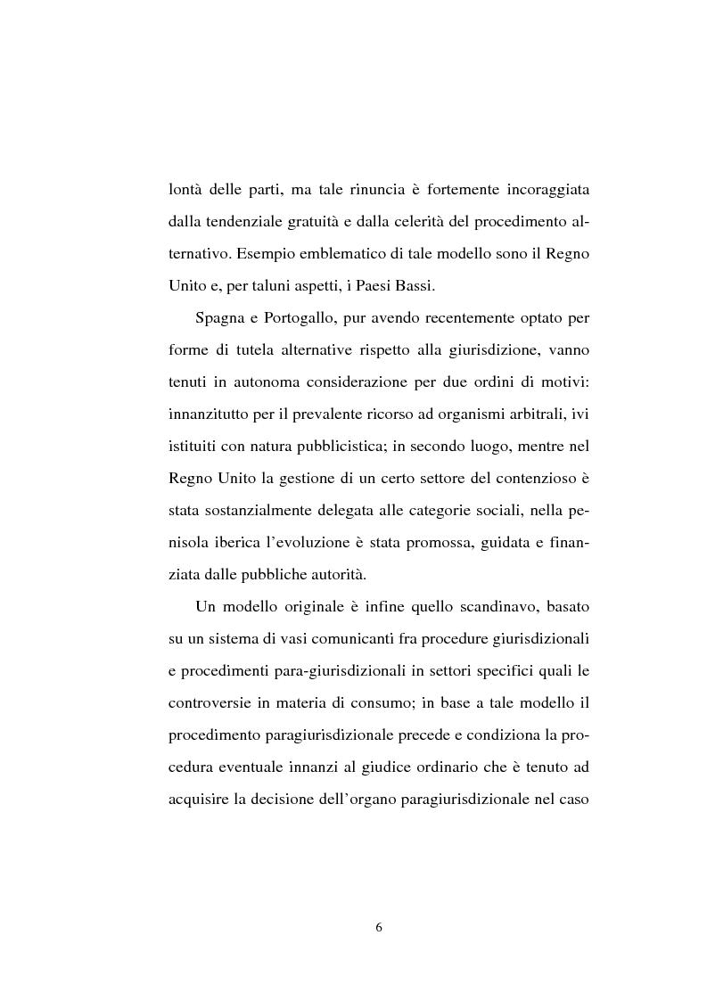 Anteprima della tesi: Tentativo di conciliazione obbligatorio ''ante causam'', Pagina 6