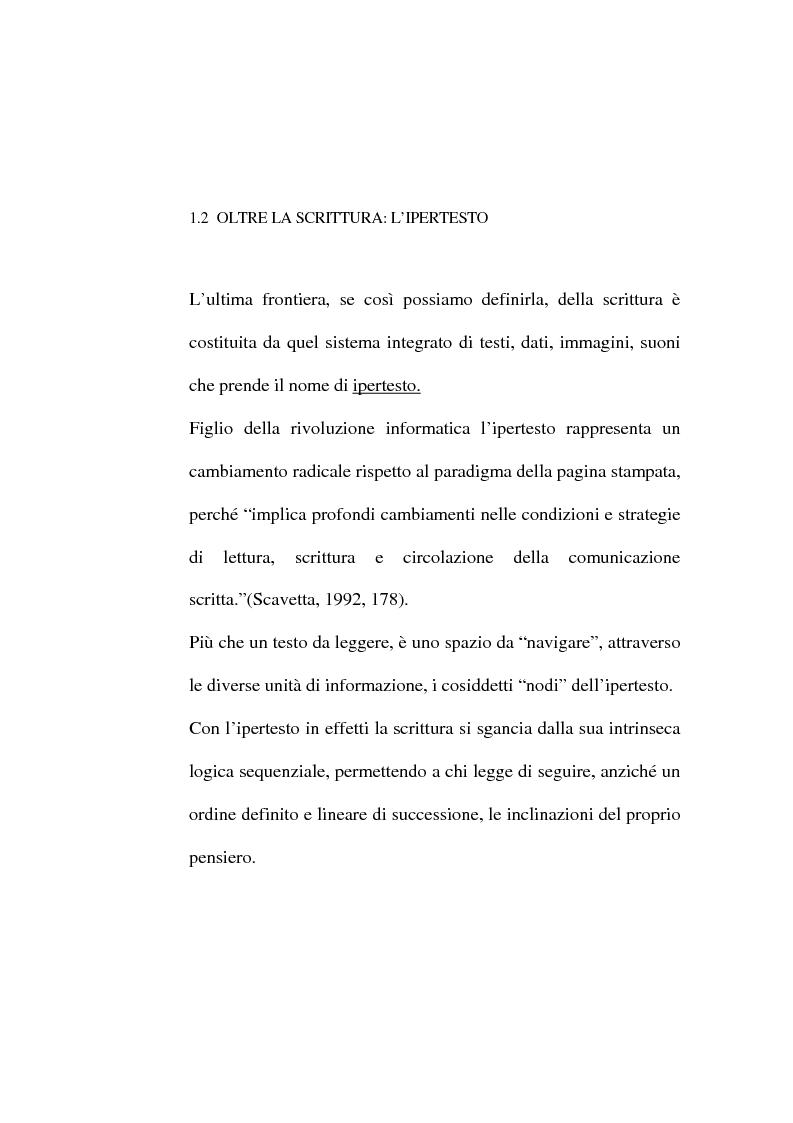 Anteprima della tesi: Dalle lettere agli sms: una ricerca sui modi di comunicazione giovanili, Pagina 4