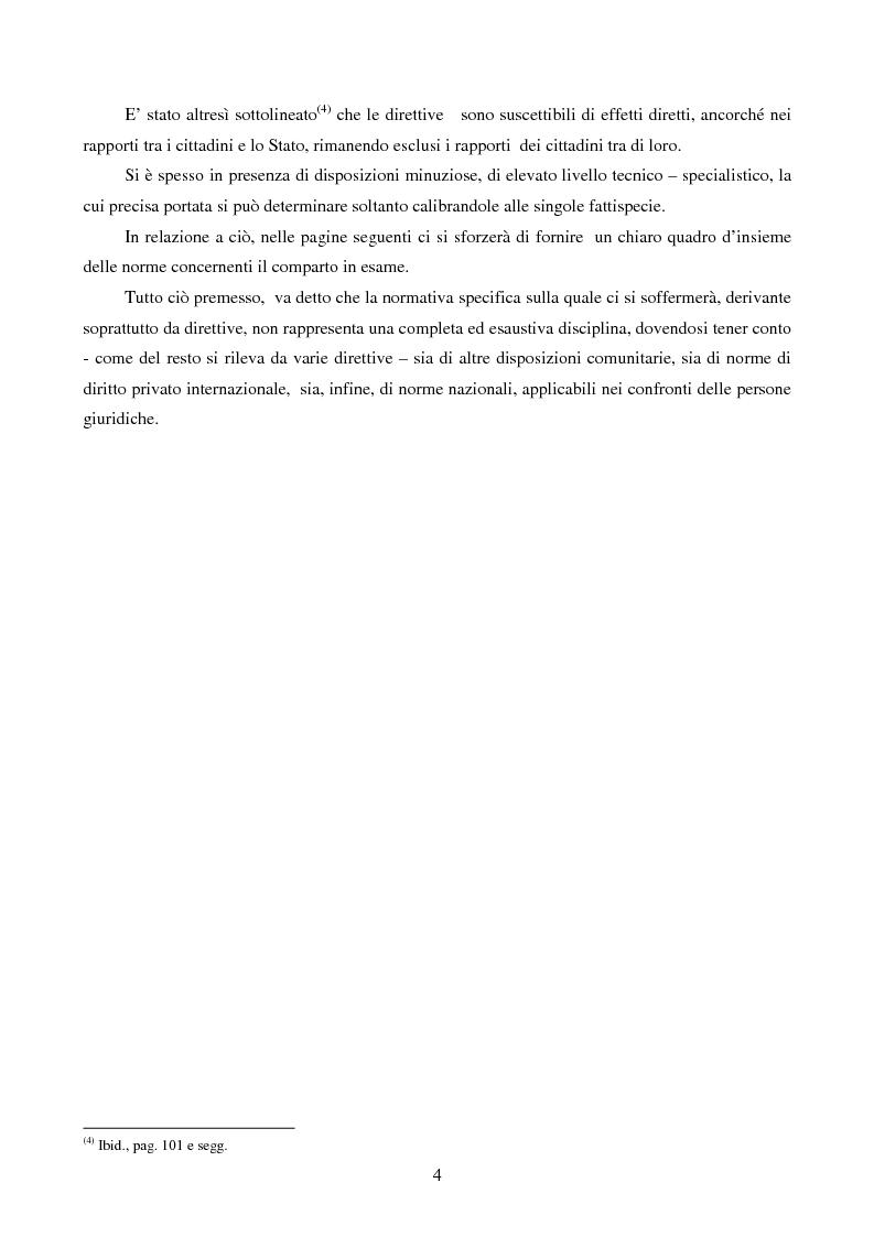 Anteprima della tesi: La disciplina comunitaria dell'intermediazione finanziaria, Pagina 2