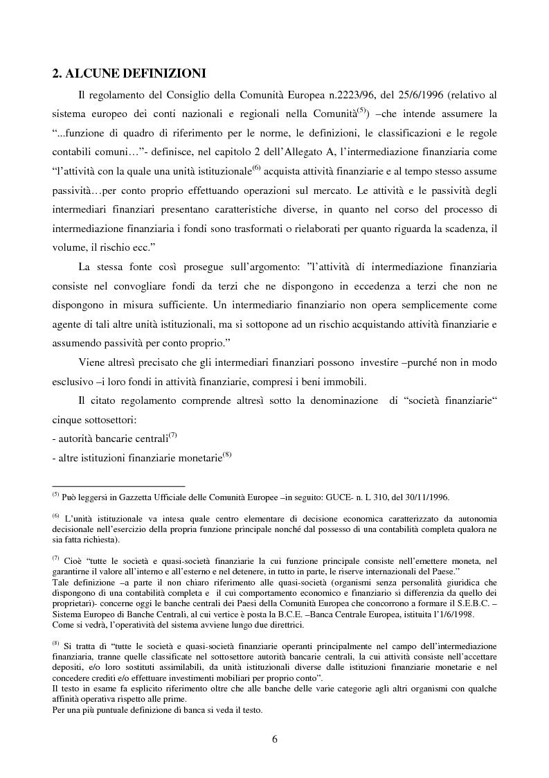 Anteprima della tesi: La disciplina comunitaria dell'intermediazione finanziaria, Pagina 4