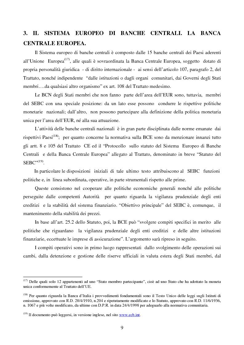 Anteprima della tesi: La disciplina comunitaria dell'intermediazione finanziaria, Pagina 7