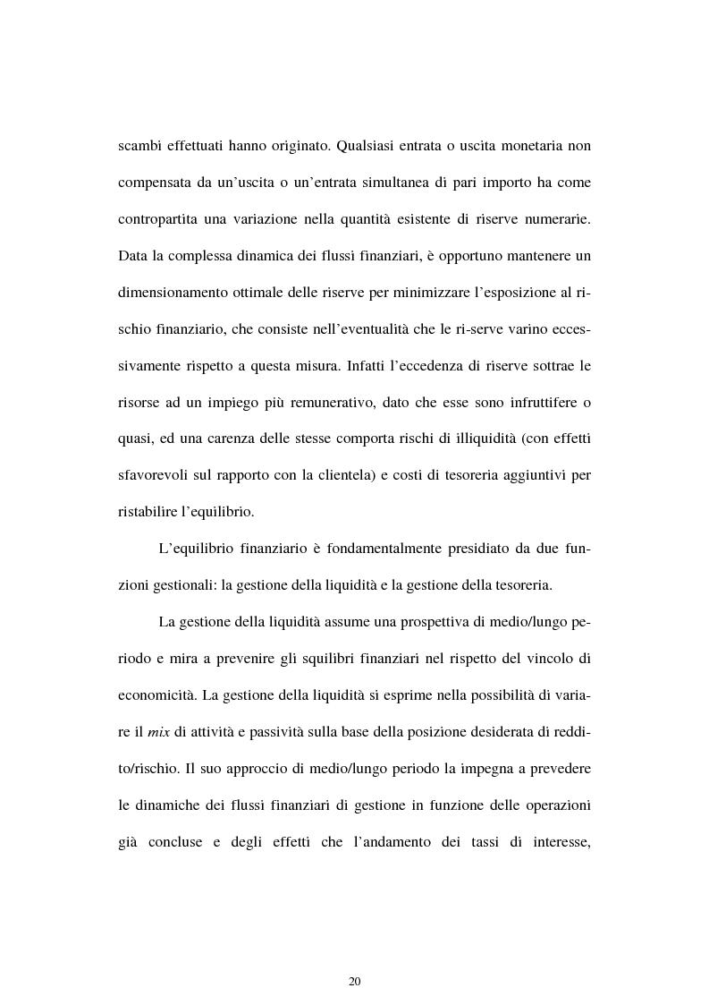 Anteprima della tesi: Il rischio di interesse e gli strumenti per un suo controllo, Pagina 13