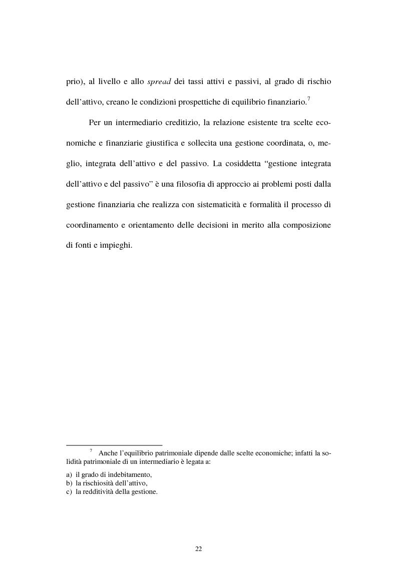 Anteprima della tesi: Il rischio di interesse e gli strumenti per un suo controllo, Pagina 15