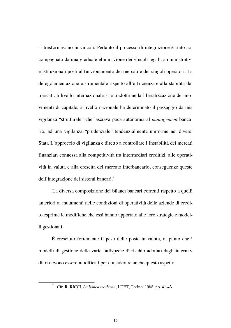 Anteprima della tesi: Il rischio di interesse e gli strumenti per un suo controllo, Pagina 9