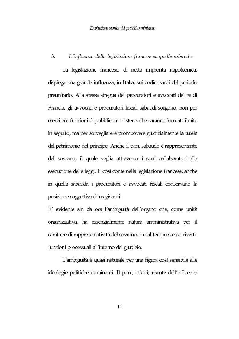 Anteprima della tesi: Profili costituzionali del Pubblico Ministero, Pagina 11