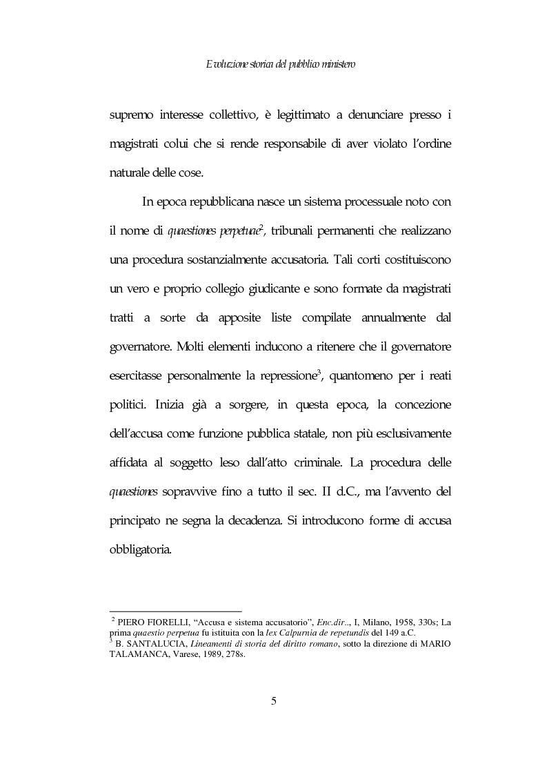 Anteprima della tesi: Profili costituzionali del Pubblico Ministero, Pagina 5