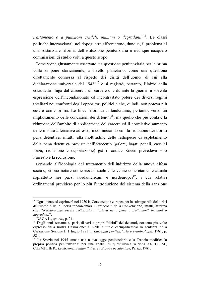 Anteprima della tesi: Esecuzione penitenziaria e collaboratori di giustizia, Pagina 10