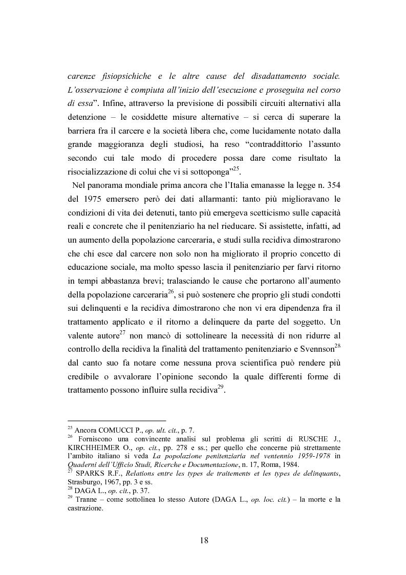 Anteprima della tesi: Esecuzione penitenziaria e collaboratori di giustizia, Pagina 13