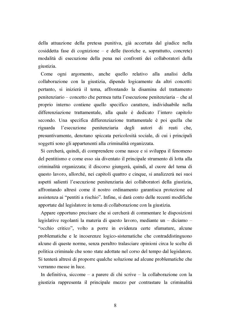 Anteprima della tesi: Esecuzione penitenziaria e collaboratori di giustizia, Pagina 3