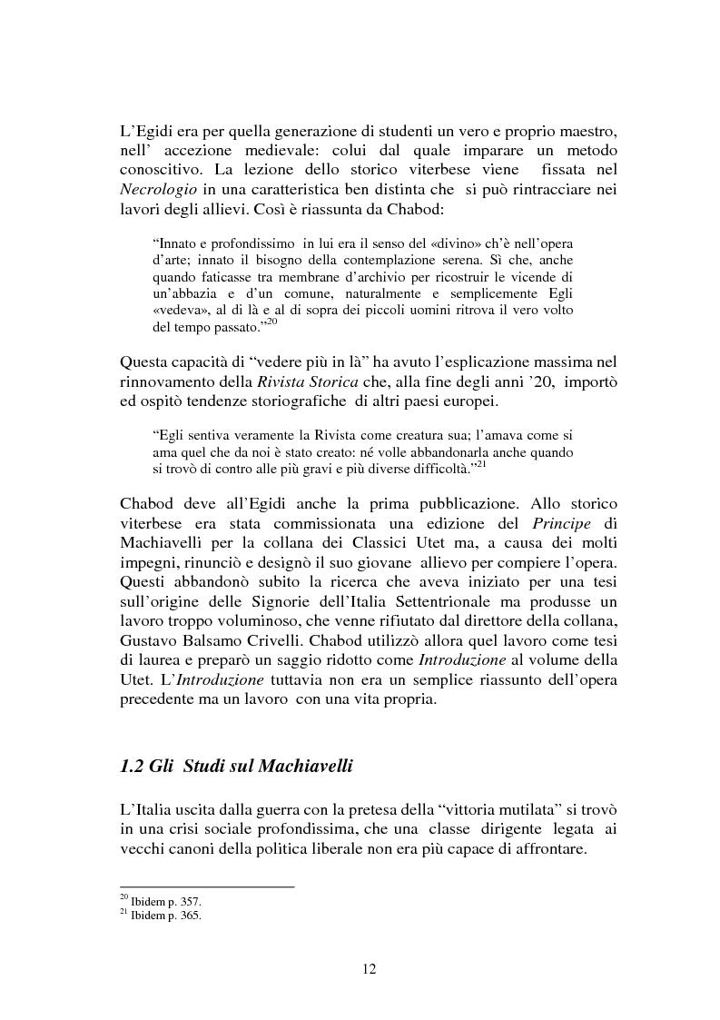 Anteprima della tesi: L'Italia contemporanea di Federico Chabod, Pagina 11