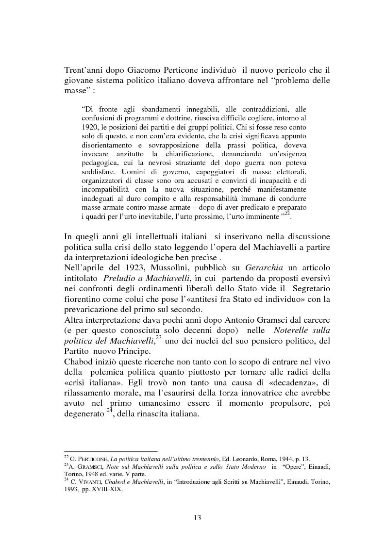 Anteprima della tesi: L'Italia contemporanea di Federico Chabod, Pagina 12