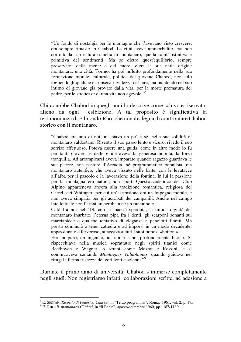 Anteprima della tesi: L'Italia contemporanea di Federico Chabod, Pagina 7