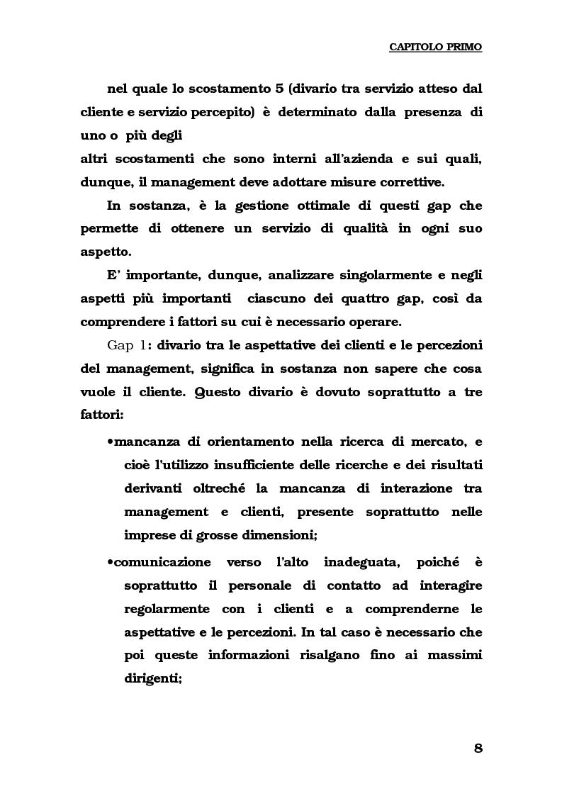 Anteprima della tesi: Lo sviluppo del turismo naturalistico-ambientale in Calabria. Alcune ipotesi per il potenziamento dell'offerta del Parco del Pollino., Pagina 10