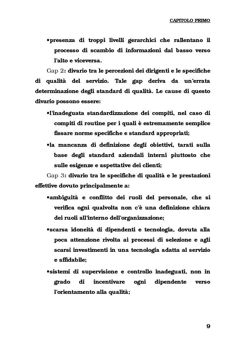 Anteprima della tesi: Lo sviluppo del turismo naturalistico-ambientale in Calabria. Alcune ipotesi per il potenziamento dell'offerta del Parco del Pollino., Pagina 11