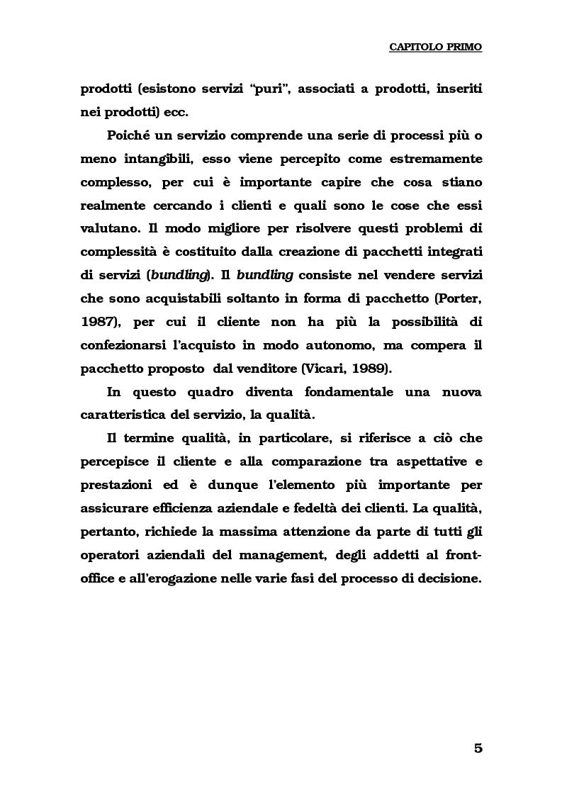 Anteprima della tesi: Lo sviluppo del turismo naturalistico-ambientale in Calabria. Alcune ipotesi per il potenziamento dell'offerta del Parco del Pollino., Pagina 7