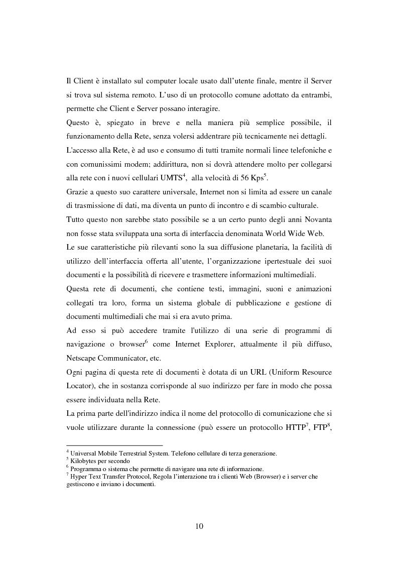 Anteprima della tesi: Quotidiani on-line in Spagna: analisi e confronti, Pagina 10