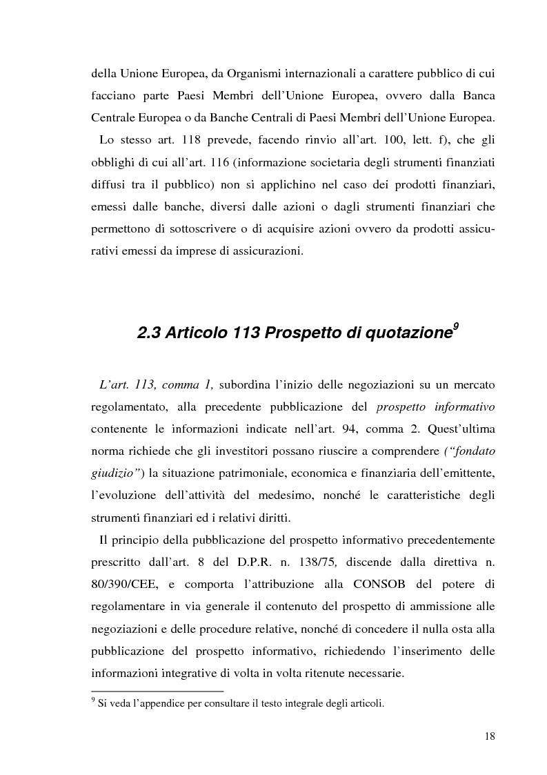 Anteprima della tesi: L'informazione societaria come veicolo del valore aziendale, Pagina 15