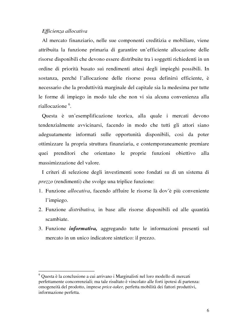 Anteprima della tesi: L'informazione societaria come veicolo del valore aziendale, Pagina 3