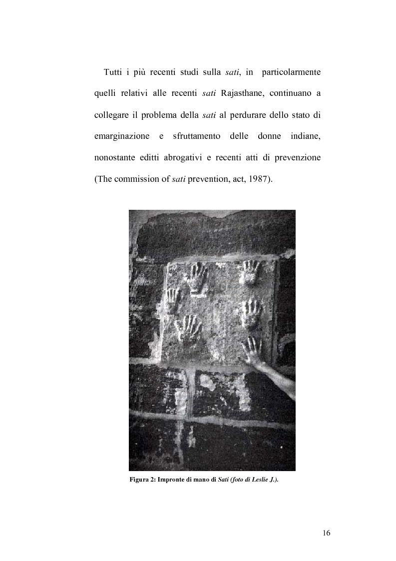 Anteprima della tesi: Ritualità e condizione sociale della donna in India, Pagina 12