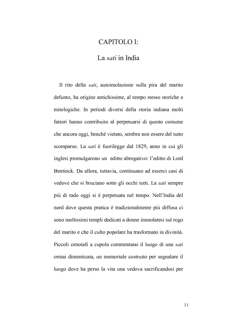 Anteprima della tesi: Ritualità e condizione sociale della donna in India, Pagina 7