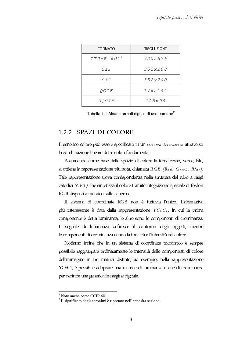 Anteprima della tesi: Codifica e decodifica di oggetti visivi nello standard MPEG-4, Pagina 3