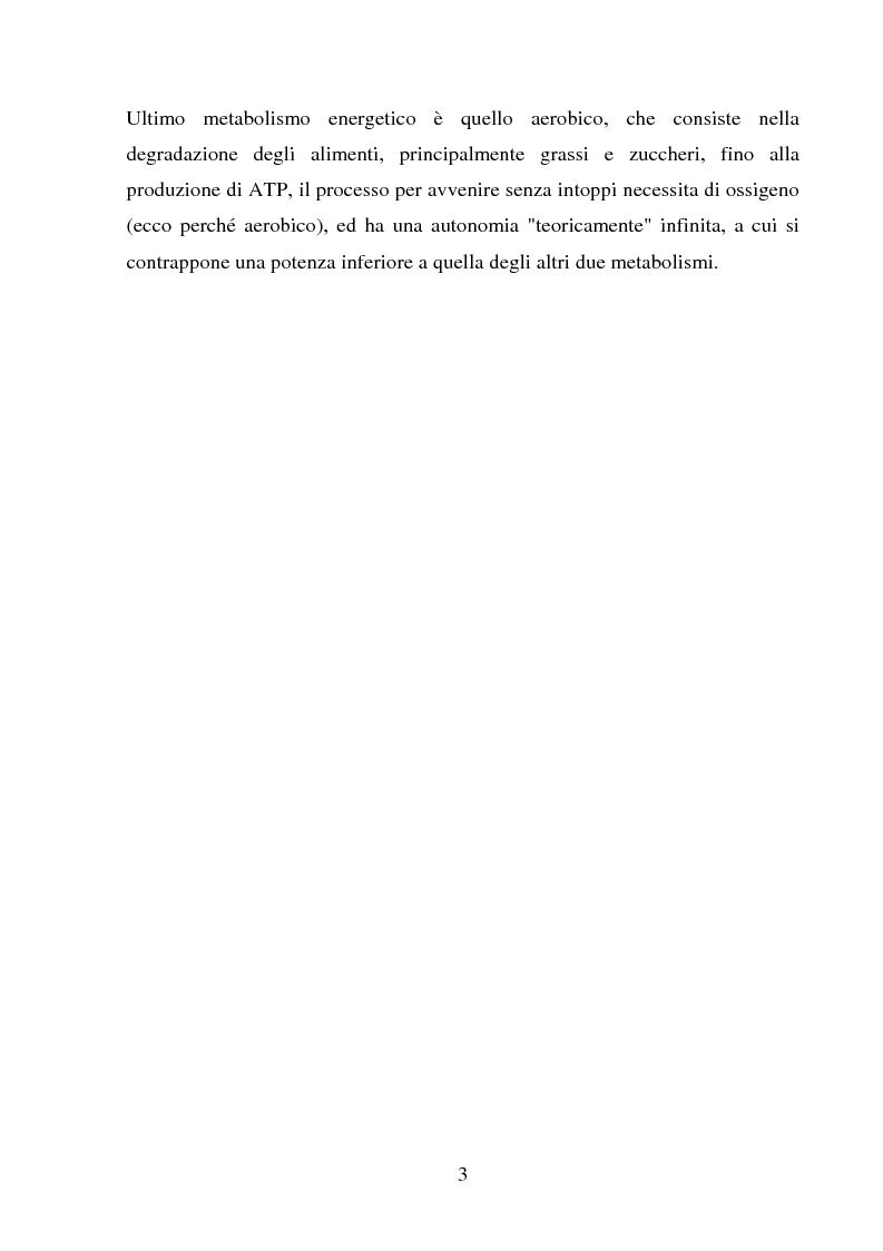 Anteprima della tesi: Il follow-up pluriennale delle caratteristiche fisiologiche in un soggetto in atletica leggera, Pagina 3