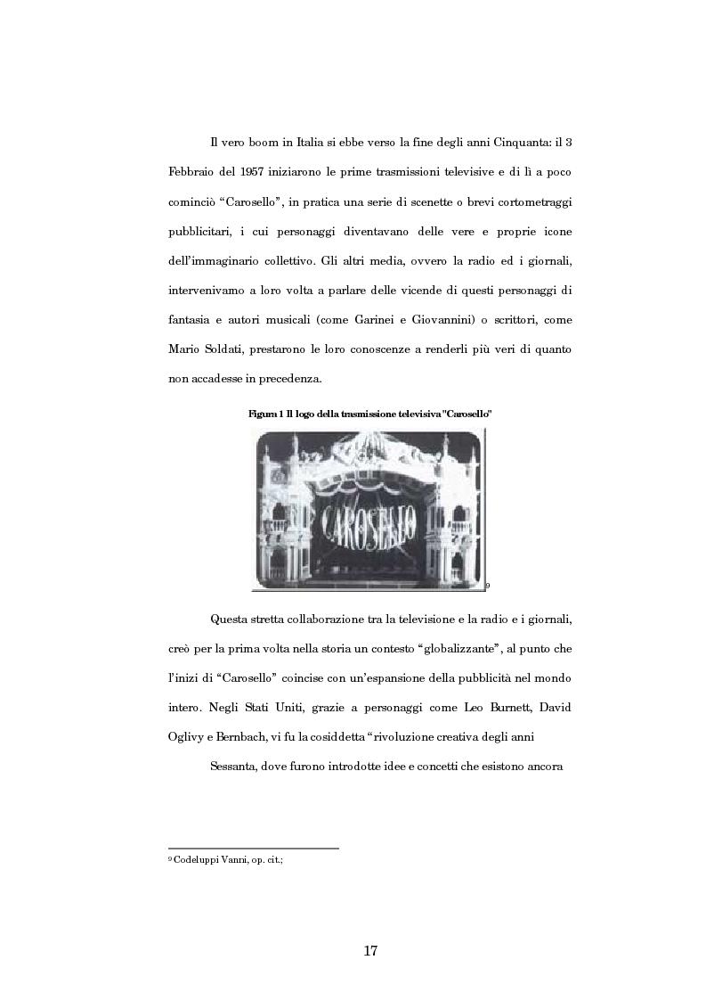 Anteprima della tesi: Nuove strategie di comunicazione nel campo pubblicitario: il caso Armando Testa, Pagina 12